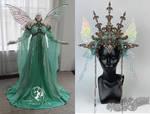 Luna Moth Fairy