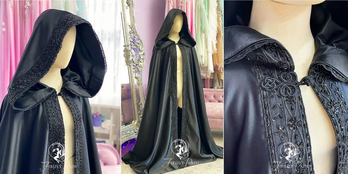 Elegant Gothic Cloak
