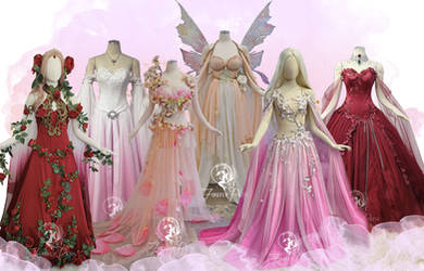 Valentines Gowns