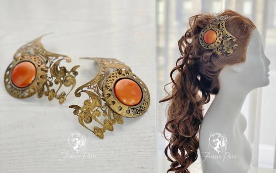 Huttslayer Leia Hair Accessories