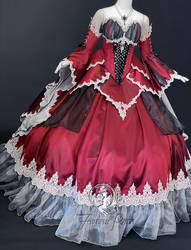 Gothic Dragon Ballgown