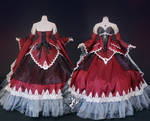 Gothic Dragon Ballgown: Rynaidrosa