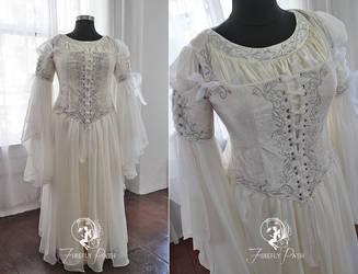 Pure Silk Elven Gown
