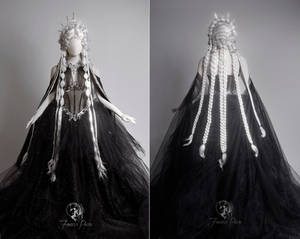 Midnight Celestial Gown