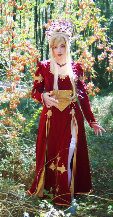 Royal Crimson by Lillyxandra
