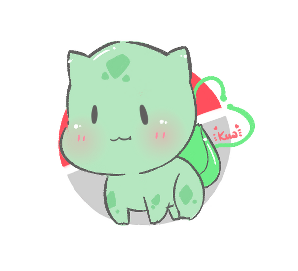 cute pokemon bulbasaur - photo #35