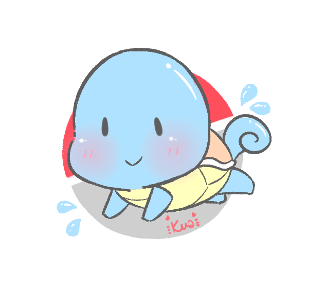 [Pokemon] Squirtle by KuaTakeru