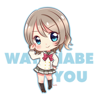 [LoveLive] Watanabe You Chibi Version by K-U-A