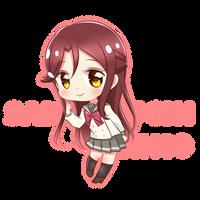 [LoveLive] Sakurauchi Riko Chibi Version by K-U-A