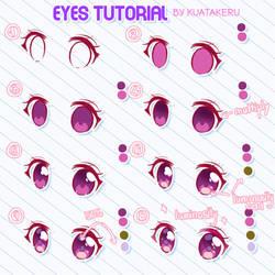 Eyes Tutorial by K-U-A