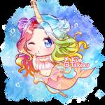[C] Mermaird Unicorn by KuaTakeru