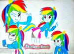 RainBowDash equestria Girls