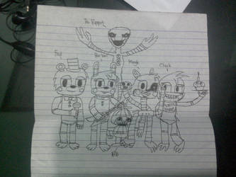 FNaF- the Toy Gang by fivestarter