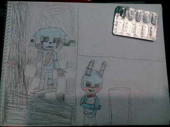 FNaF comic :WIP: by fivestarter