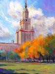 Moscow State University - Autumn