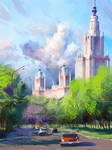 Moscow State University - Summer