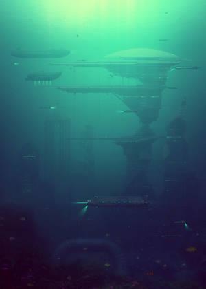 Underwater Terminal by Zamenabatareek