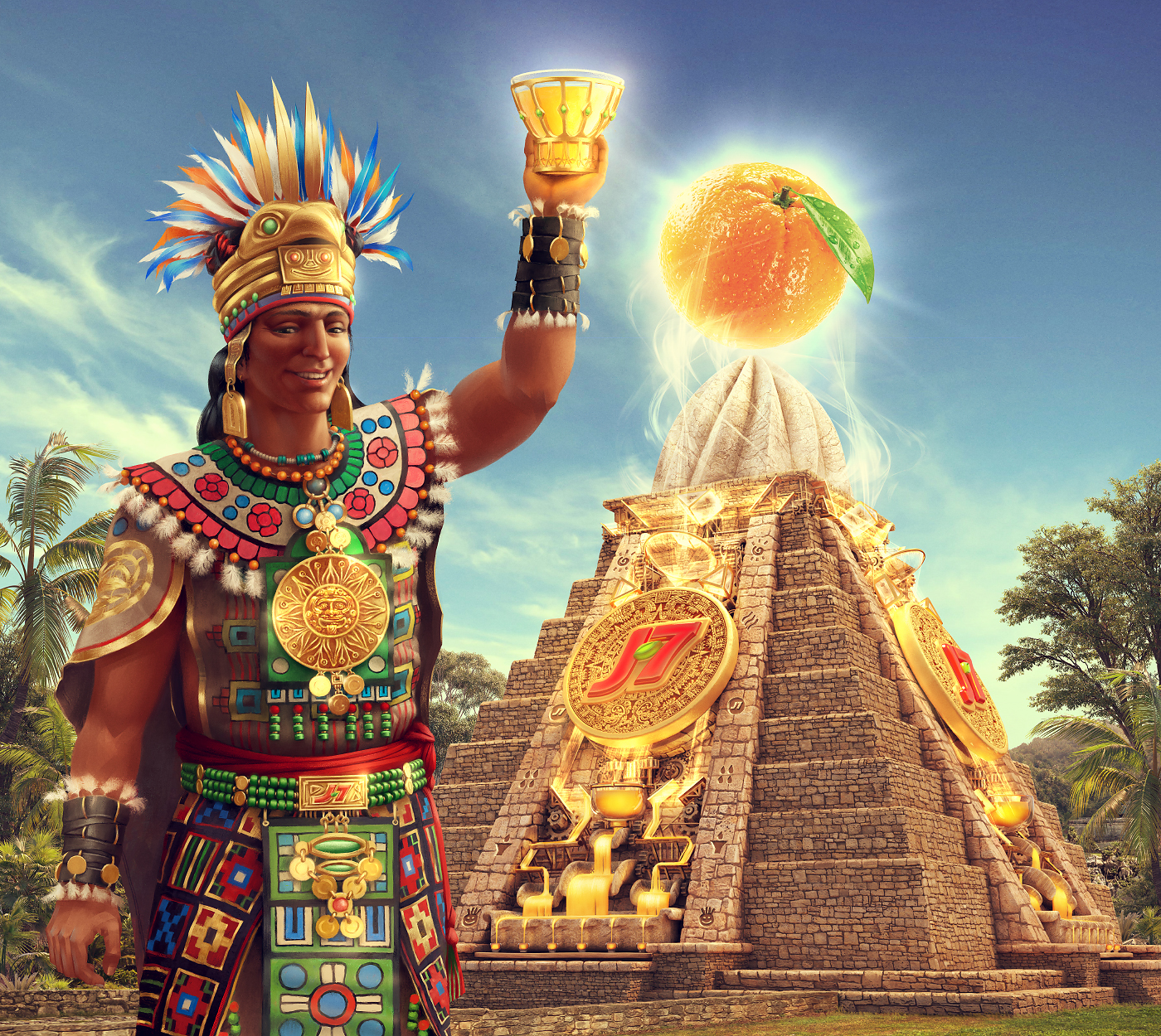'Mayan Juicer' Ad Visual