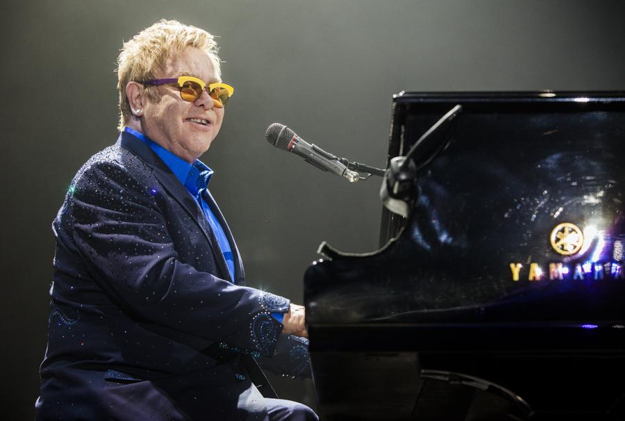 Elton John by GIVEthemHORNS