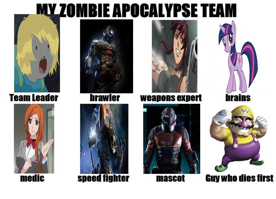 My Zombie Apocalypse Team 2 by markellbarnes360
