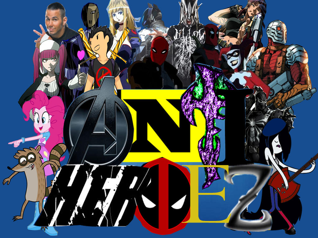 New Anti-Heroez Roster by markellbarnes360