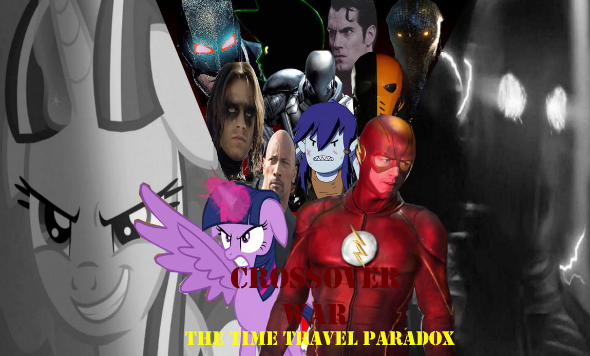 Crossover War: The Time Travel Paradox by markellbarnes360