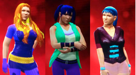 WWE 2k14 The Dazzings