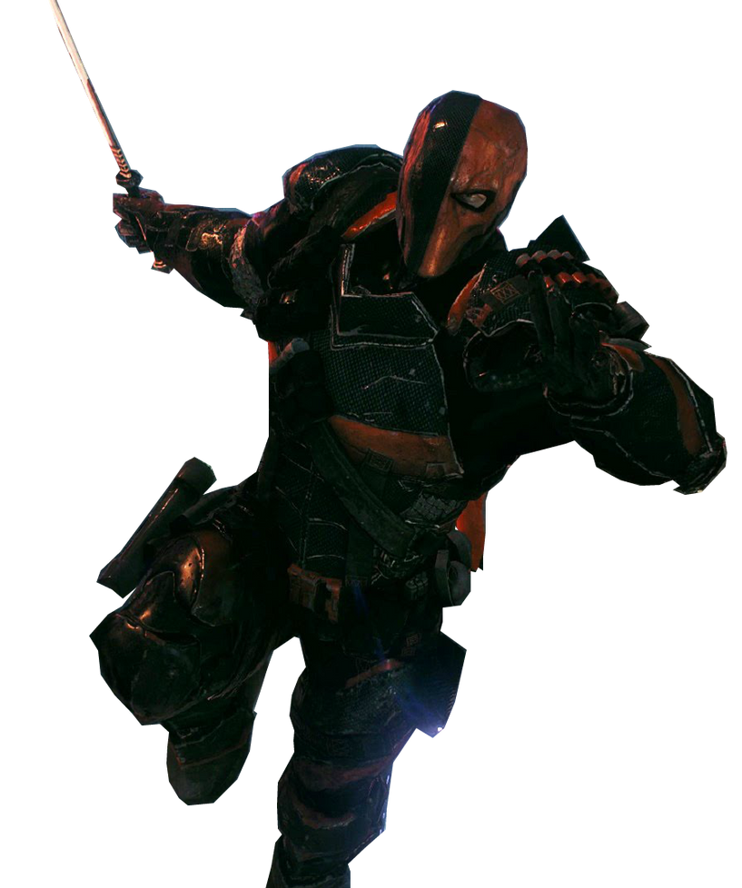 Batman AK Deathstroke Render by MarkellBarnes360 on DeviantArt