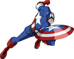 EMH Captain America Render