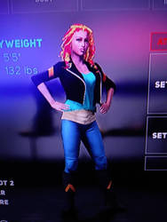 WWE 2K18 Sunset Shimmer by MarkellBarnes360