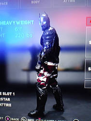 WWE2K18 Arkham Knight by MarkellBarnes360