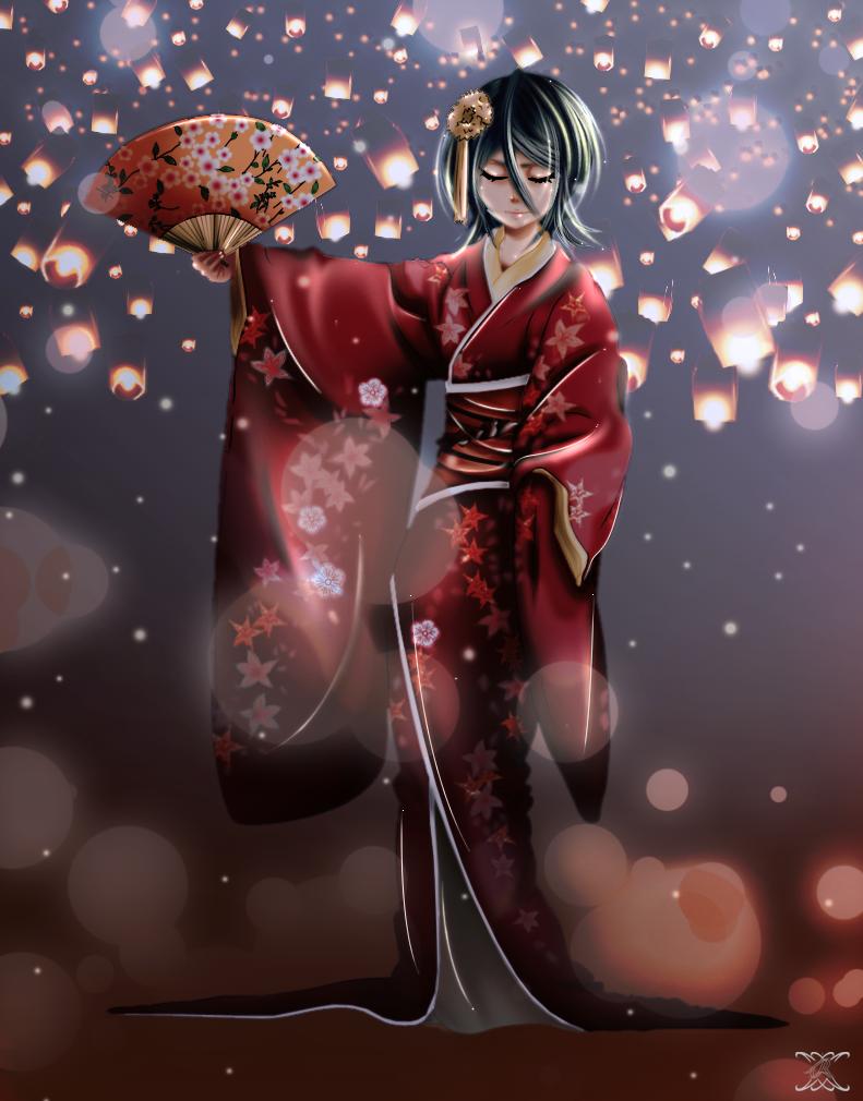 Kuchiki rukia by Kurenai-3O