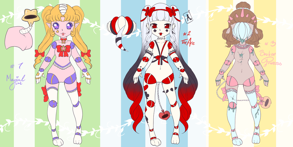 [First batch Auction] Lurettes by GirlfaceRen