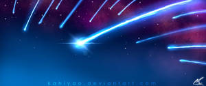 Blue Fire Comets