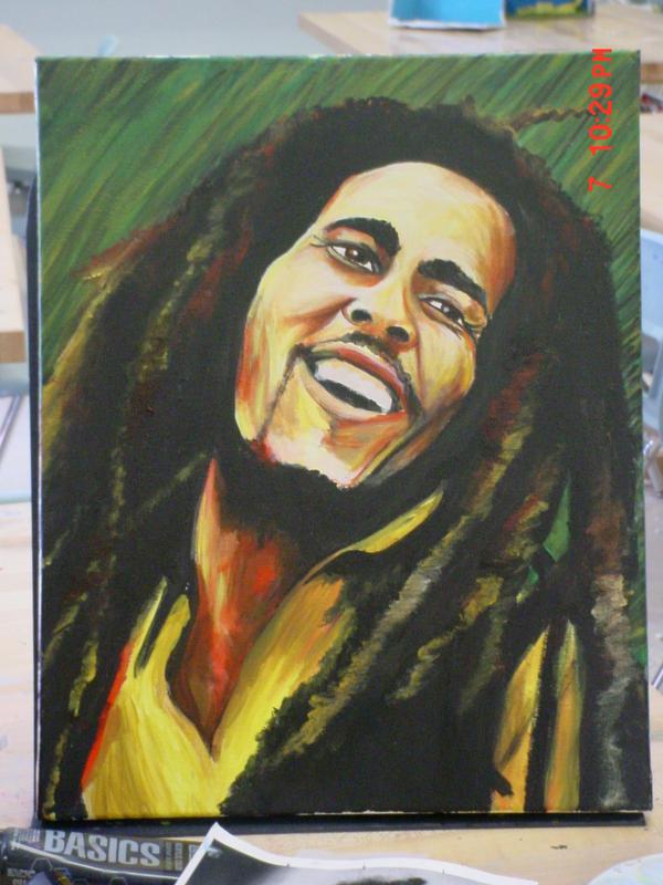 BOB Marley by schnellzz