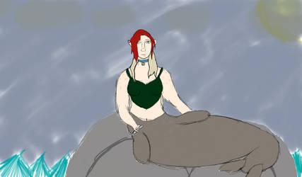 Selkie Me  by Artemis-Dragunus