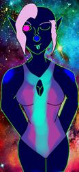 Bioluminest Girl by Artemis-Dragunus