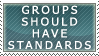 Have Standards Stamp by neopuff