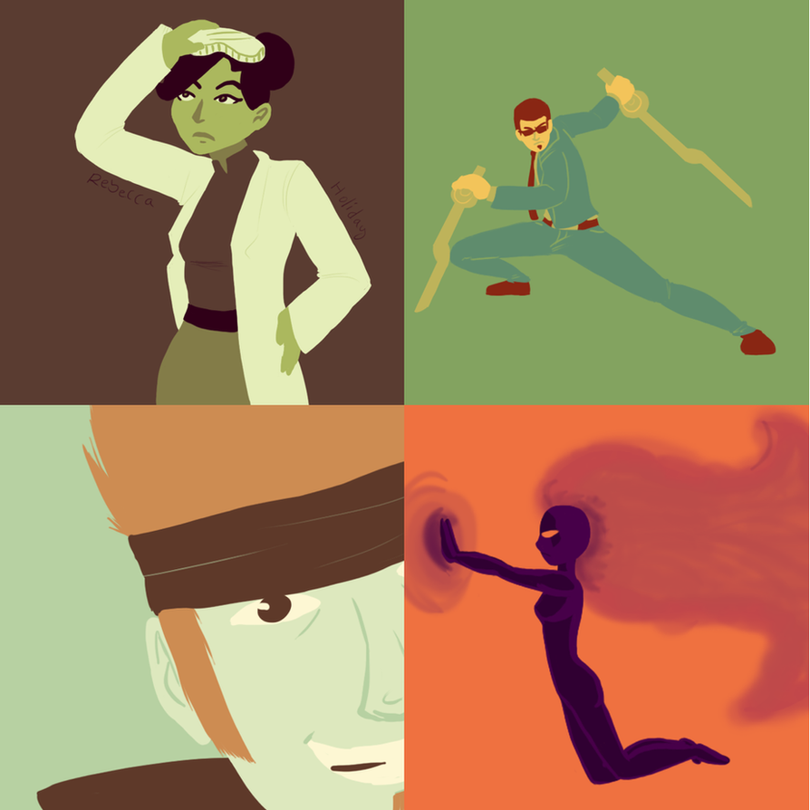 Limited Palettes // Generator Rex + Ben 10 By Neopuff On