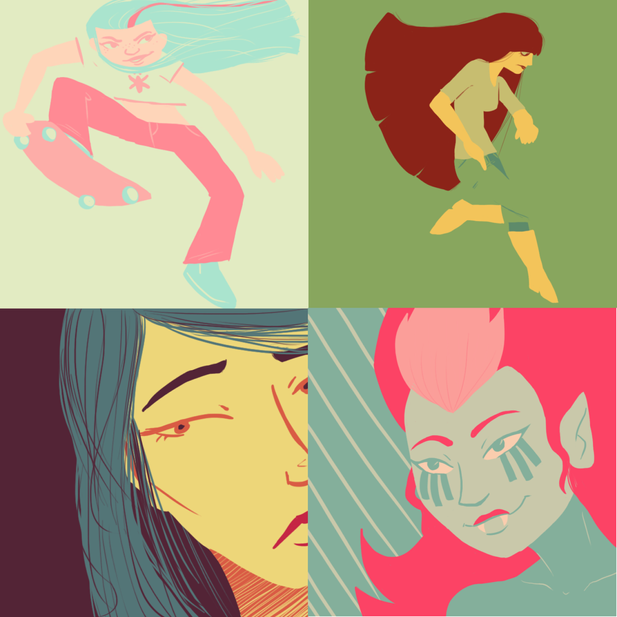 Limited Palettes // Other By Neopuff On DeviantArt