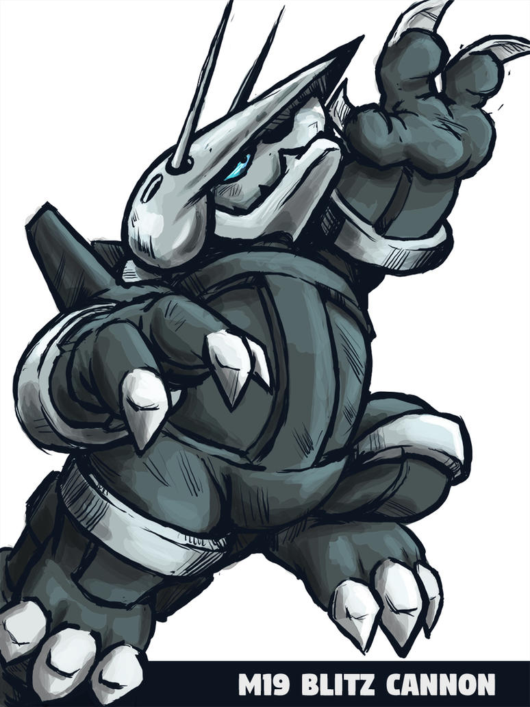 Aggron M19 Blitz Cannon by runde