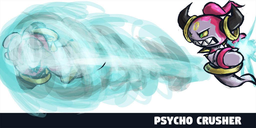 Hoopa Psycho Crusher by runde