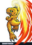 Agumon Shoryuken