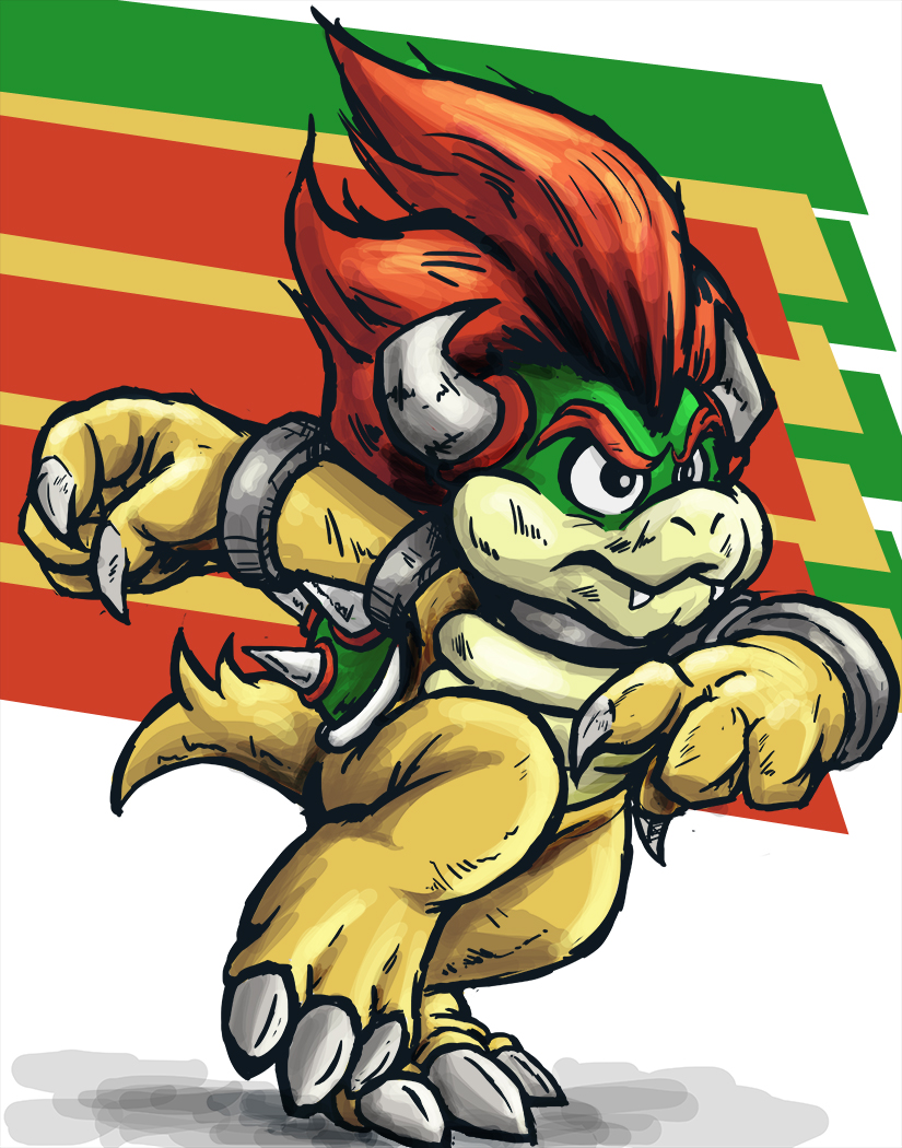 e] Sonic 3 and Bowser Take 3 by runde on DeviantArt