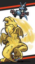 Dragonite Up Throw