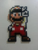Fire suit Mario by Bgoodfinger
