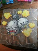 Grey Scale Pokemon Weezing by Bgoodfinger