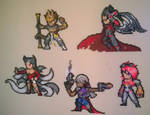 League of Legends small perler sprites.