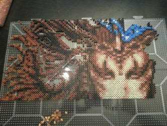 Final Fantasy 6 Goddess Boss WIP 2 by Bgoodfinger