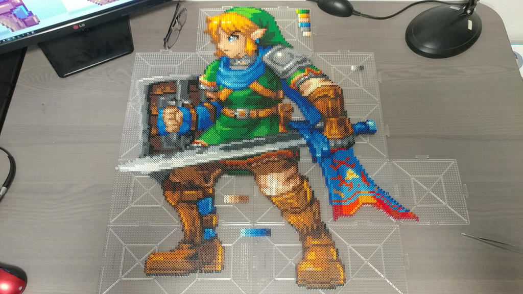 Hyrule Warriors Link Complete by Abysswolf by Bgoodfinger